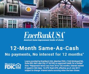 Central Florida Trimlight 12 Months Same as Cash Financing Banner.