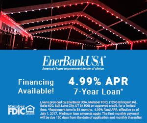 Central Florida Trimlight 4.99% APR Financing Banner.