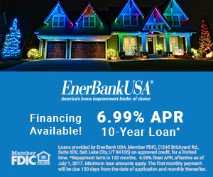 Central Florida Trimlight 6.99% APR Financing Banner.